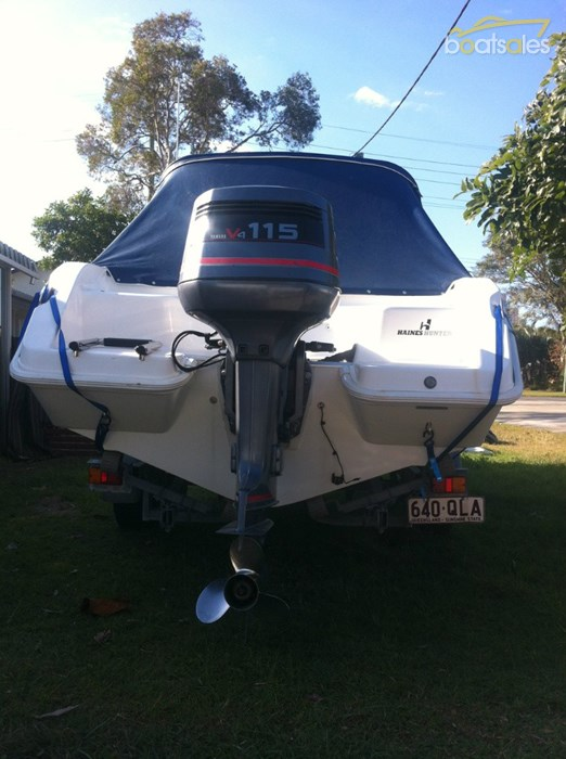 2004 Haines Hunter 550 Carnival Boat Sales Qld Gold
