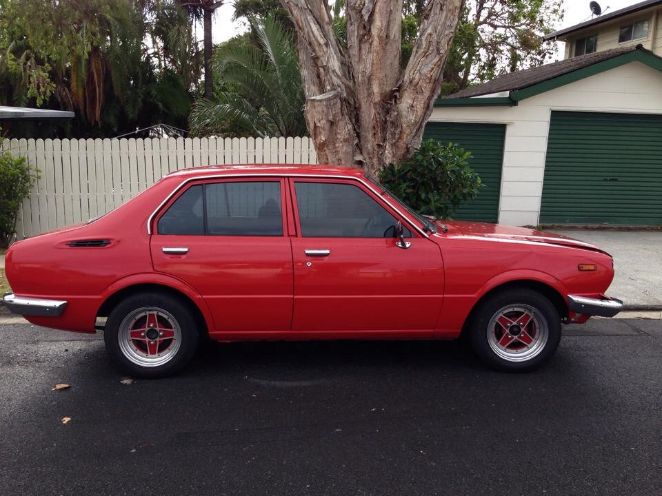 1981 toyota corolla for sale or swap qld gold coast. Black Bedroom Furniture Sets. Home Design Ideas