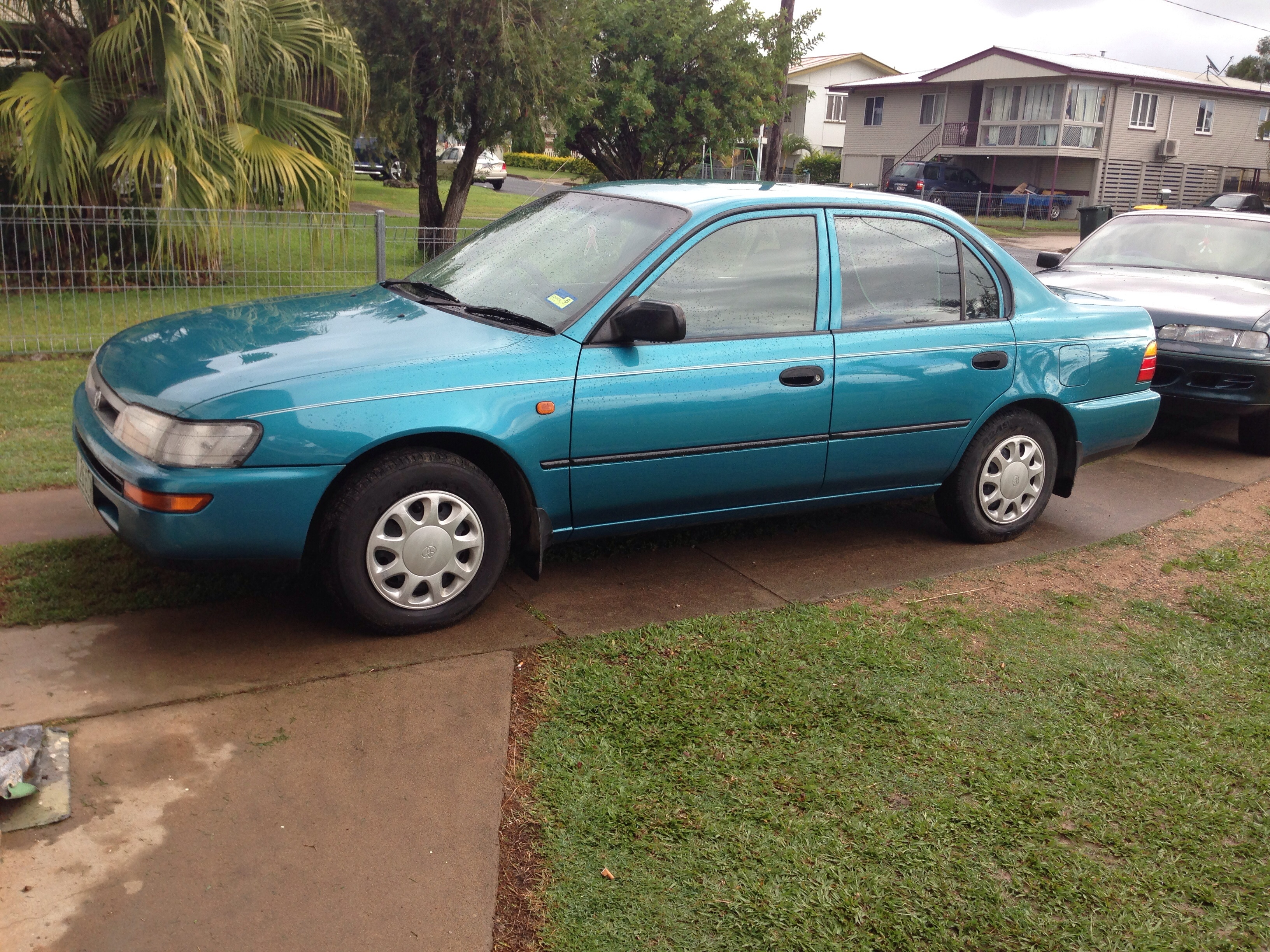 1997 toyota corolla for sale or swap qld fraser coast. Black Bedroom Furniture Sets. Home Design Ideas