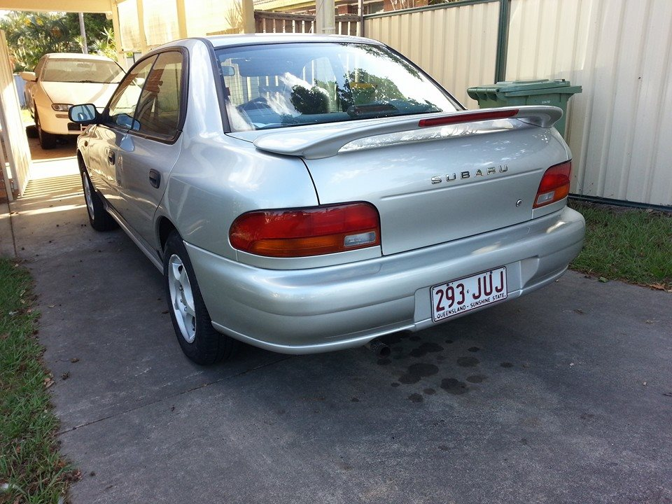 1998 Subaru Impreza For Sale Or Swap Qld Brisbane South