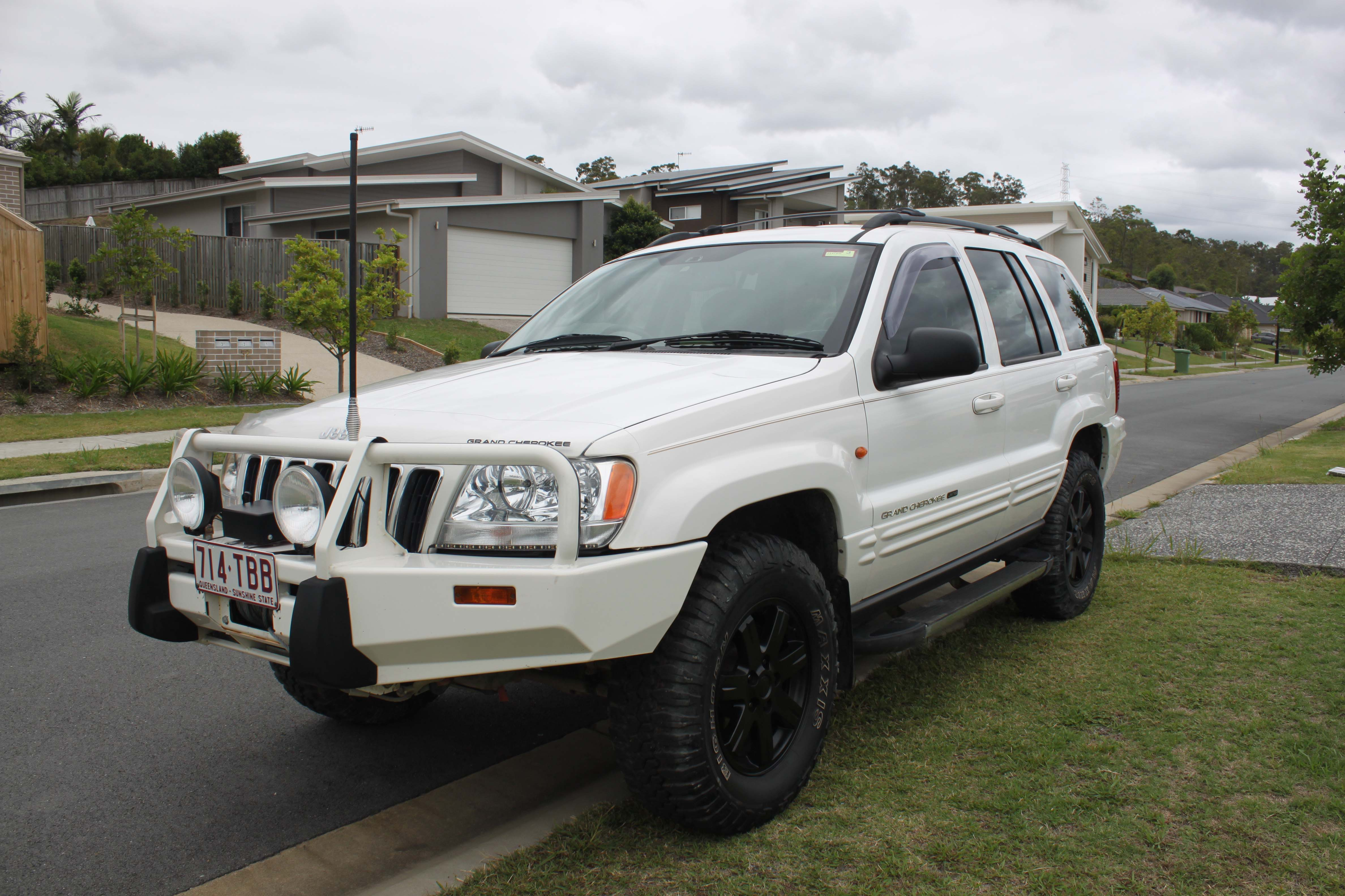 2003 jeep grand cherokee limited 4x4 wg for sale qld gold coast. Black Bedroom Furniture Sets. Home Design Ideas